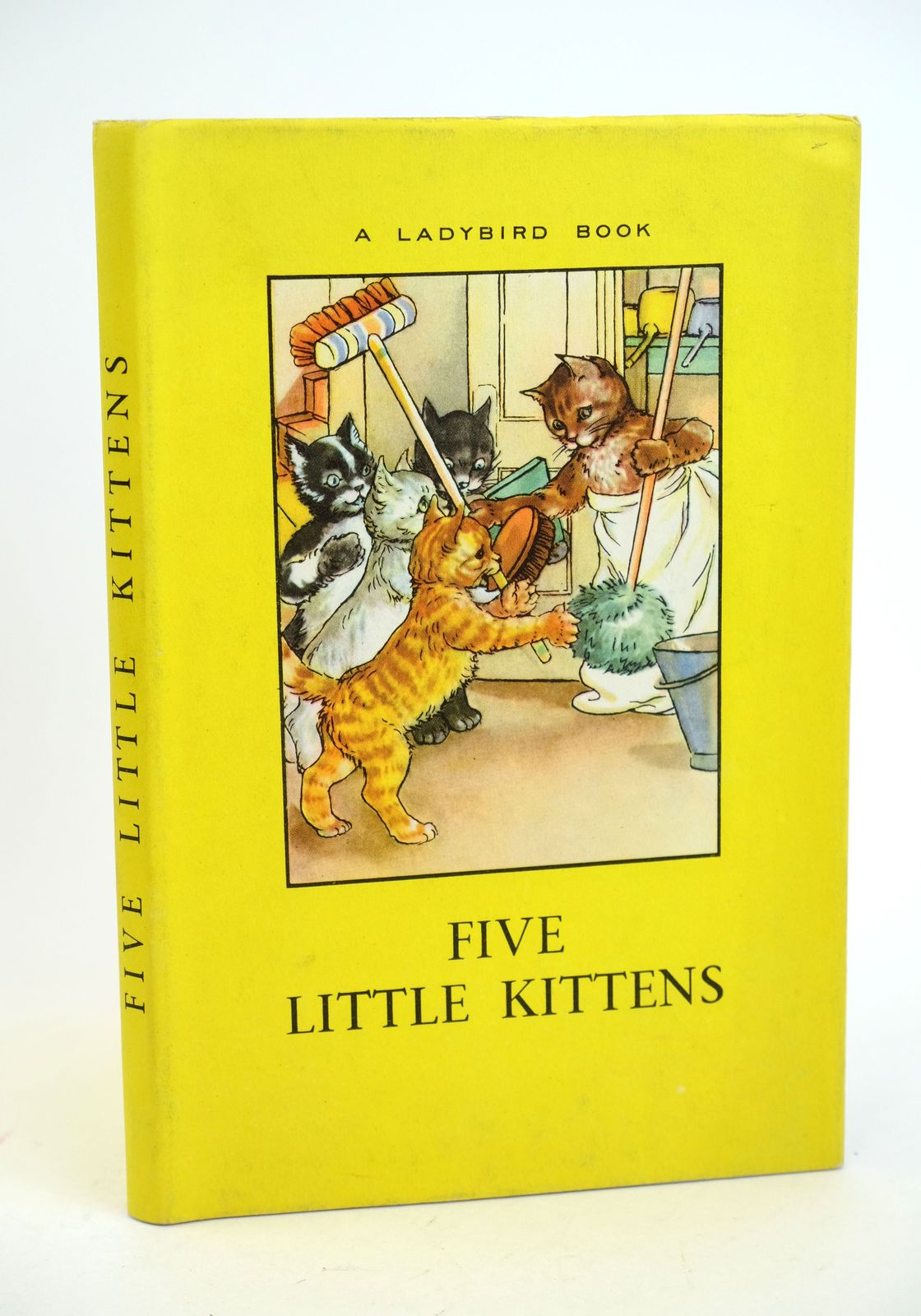 Photo of FIVE LITTLE KITTENS written by Perring, W. Macgregor, A.J. illustrated by Macgregor, A.J. published by Wills & Hepworth Ltd. (STOCK CODE: 1318605)  for sale by Stella & Rose's Books
