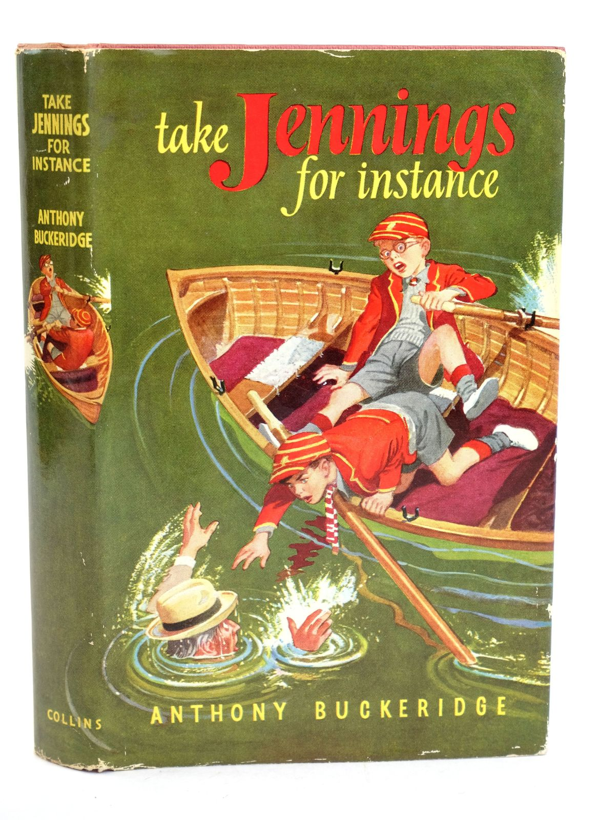 Photo of TAKE JENNINGS FOR INSTANCE written by Buckeridge, Anthony illustrated by Mays,  published by Collins (STOCK CODE: 1318608)  for sale by Stella & Rose's Books