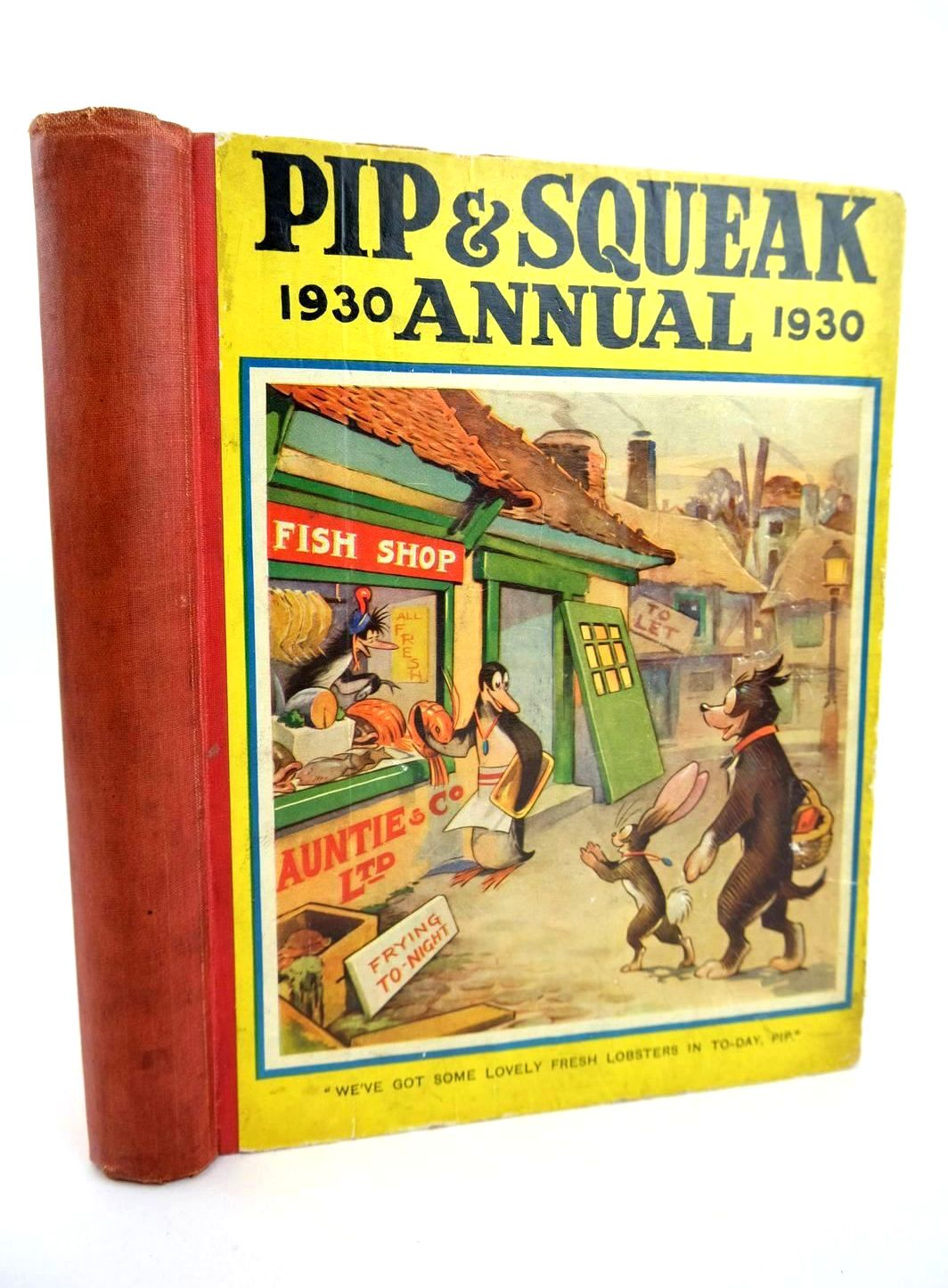 Photo of PIP & SQUEAK ANNUAL 1930- Stock Number: 1318622