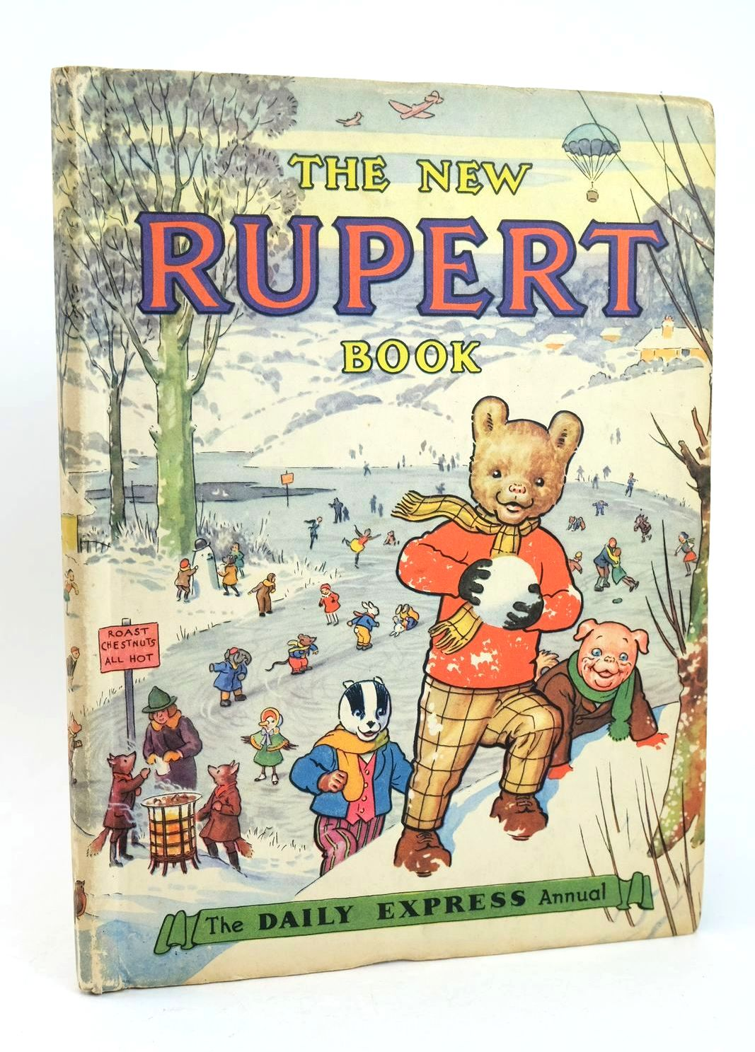 Photo of RUPERT ANNUAL 1951 - THE NEW RUPERT BOOK- Stock Number: 1318641