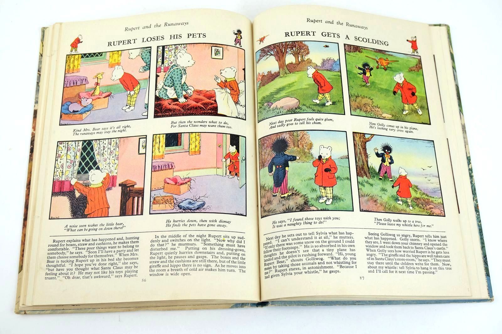 Photo of RUPERT ANNUAL 1951 - THE NEW RUPERT BOOK written by Bestall, Alfred illustrated by Bestall, Alfred published by Daily Express (STOCK CODE: 1318641)  for sale by Stella & Rose's Books