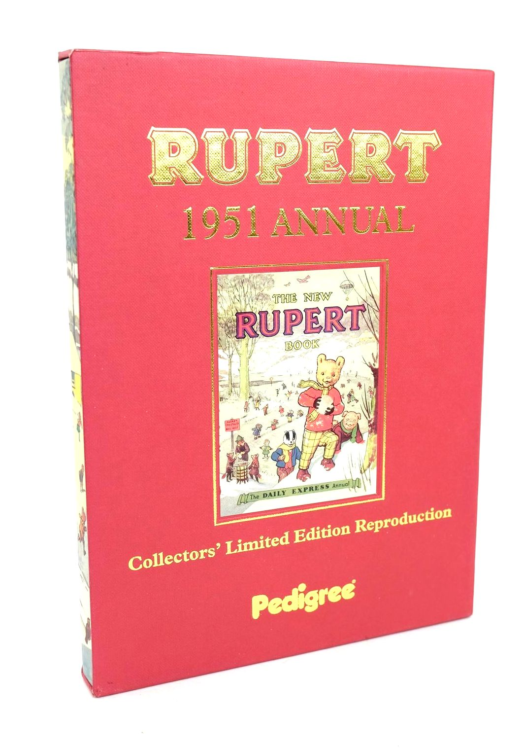 Photo of RUPERT ANNUAL 1951 (FACSIMILE) - THE NEW RUPERT BOOK written by Bestall, Alfred illustrated by Bestall, Alfred published by Pedigree Books Limited (STOCK CODE: 1318644)  for sale by Stella & Rose's Books