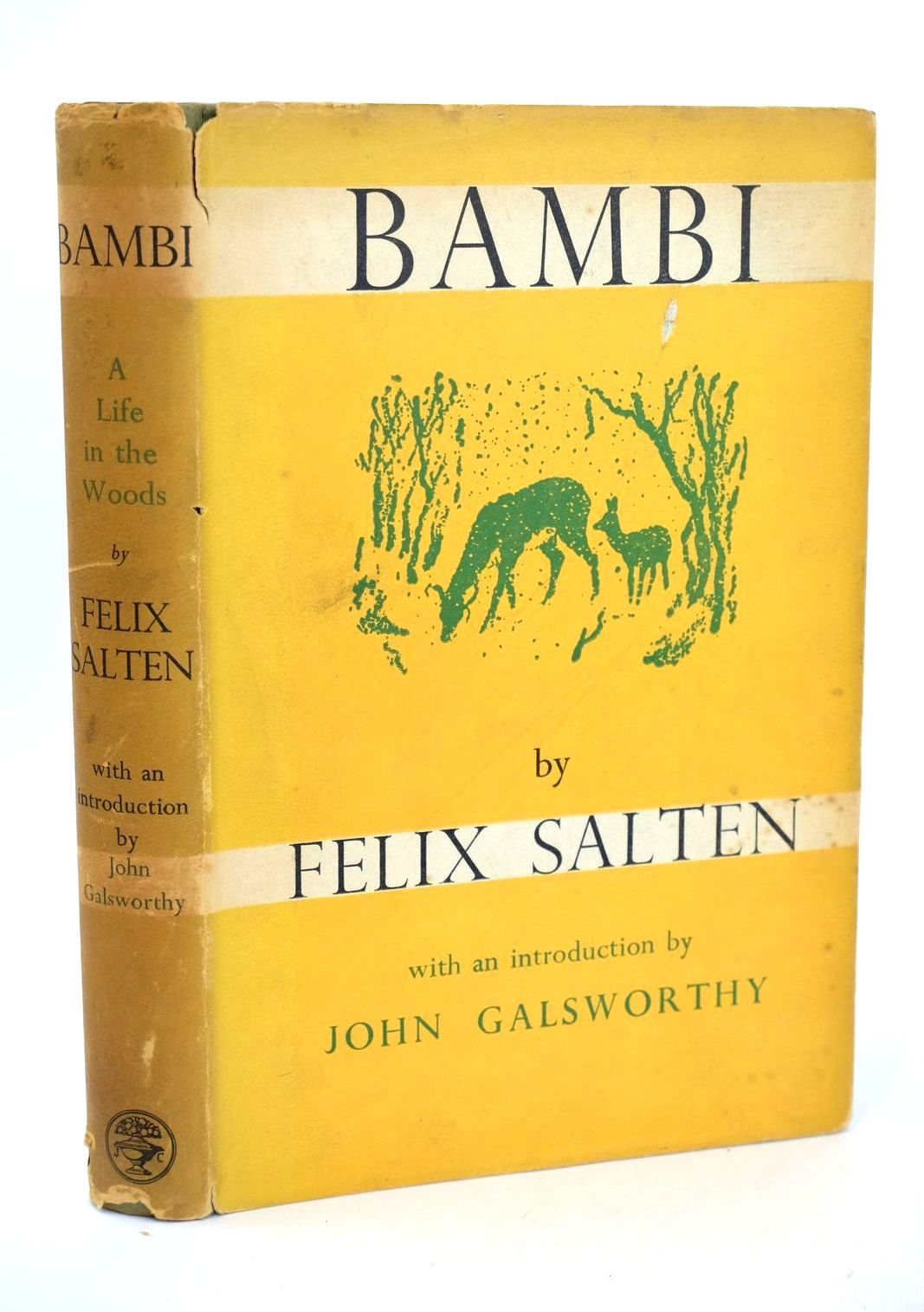 Photo of BAMBI - A LIFE IN THE WOODS written by Salten, Felix published by Jonathan Cape (STOCK CODE: 1318648)  for sale by Stella & Rose's Books