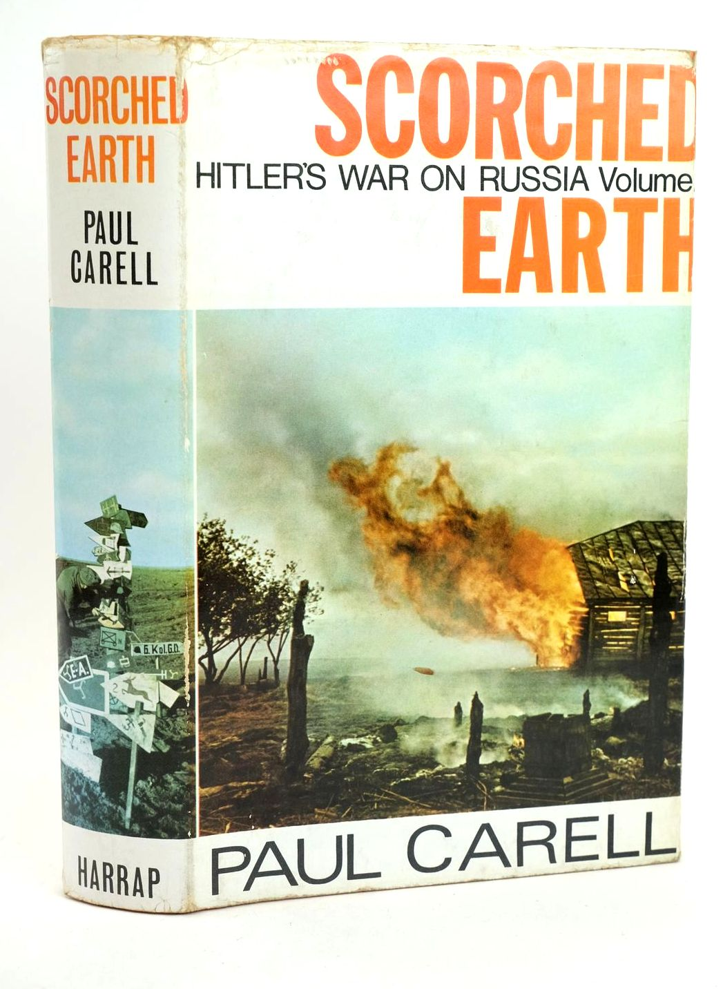 Photo of SCORCHED EARTH written by Carell, Paul published by George G. Harrap & Co. Ltd. (STOCK CODE: 1318665)  for sale by Stella & Rose's Books