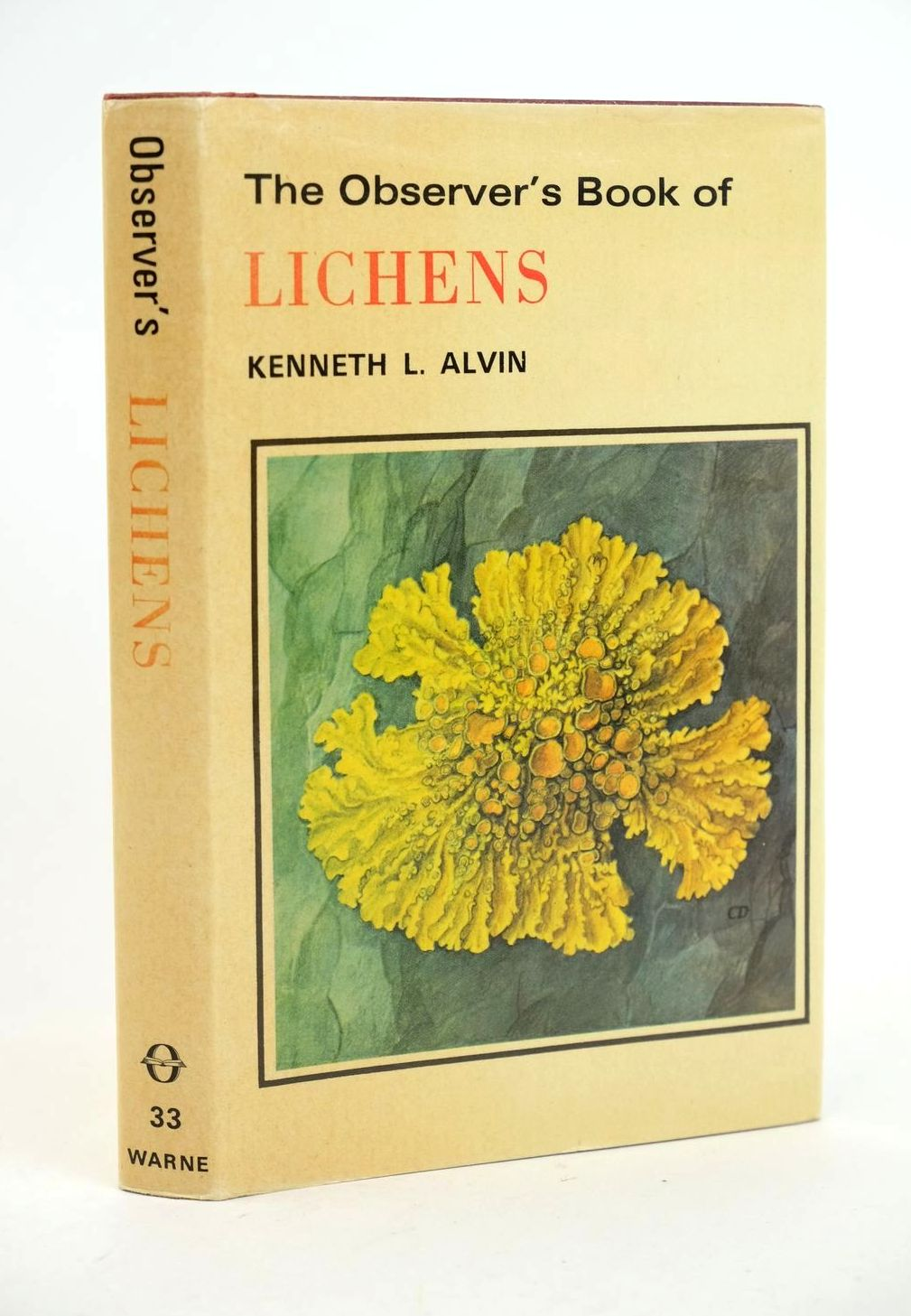 Photo of THE OBSERVER'S BOOK OF LICHENS- Stock Number: 1318666