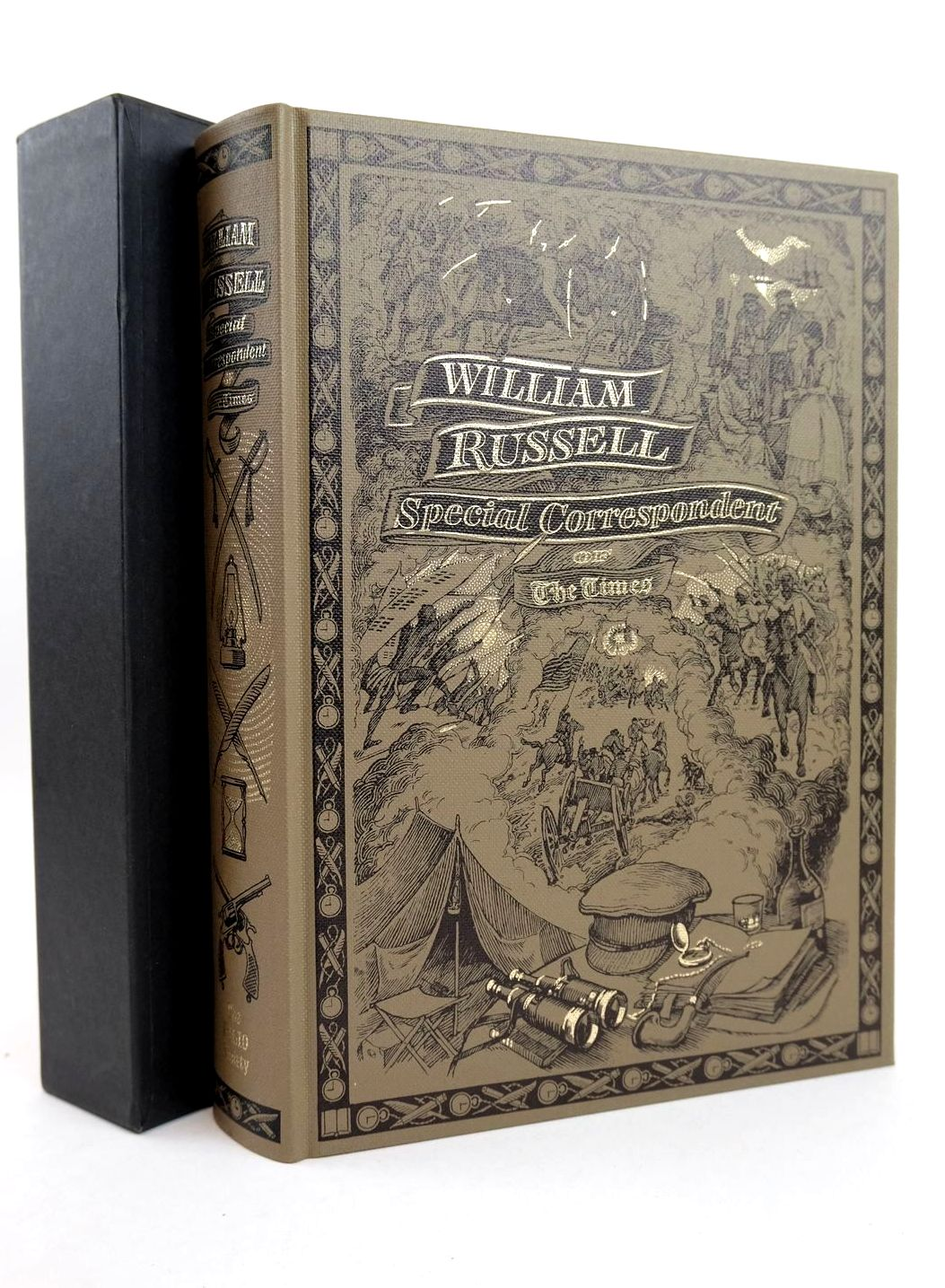 Photo of WILLIAM RUSSELL SPECIAL CORRESPONDENT OF THE TIMES written by Hudson, Roger published by Folio Society (STOCK CODE: 1318668)  for sale by Stella & Rose's Books
