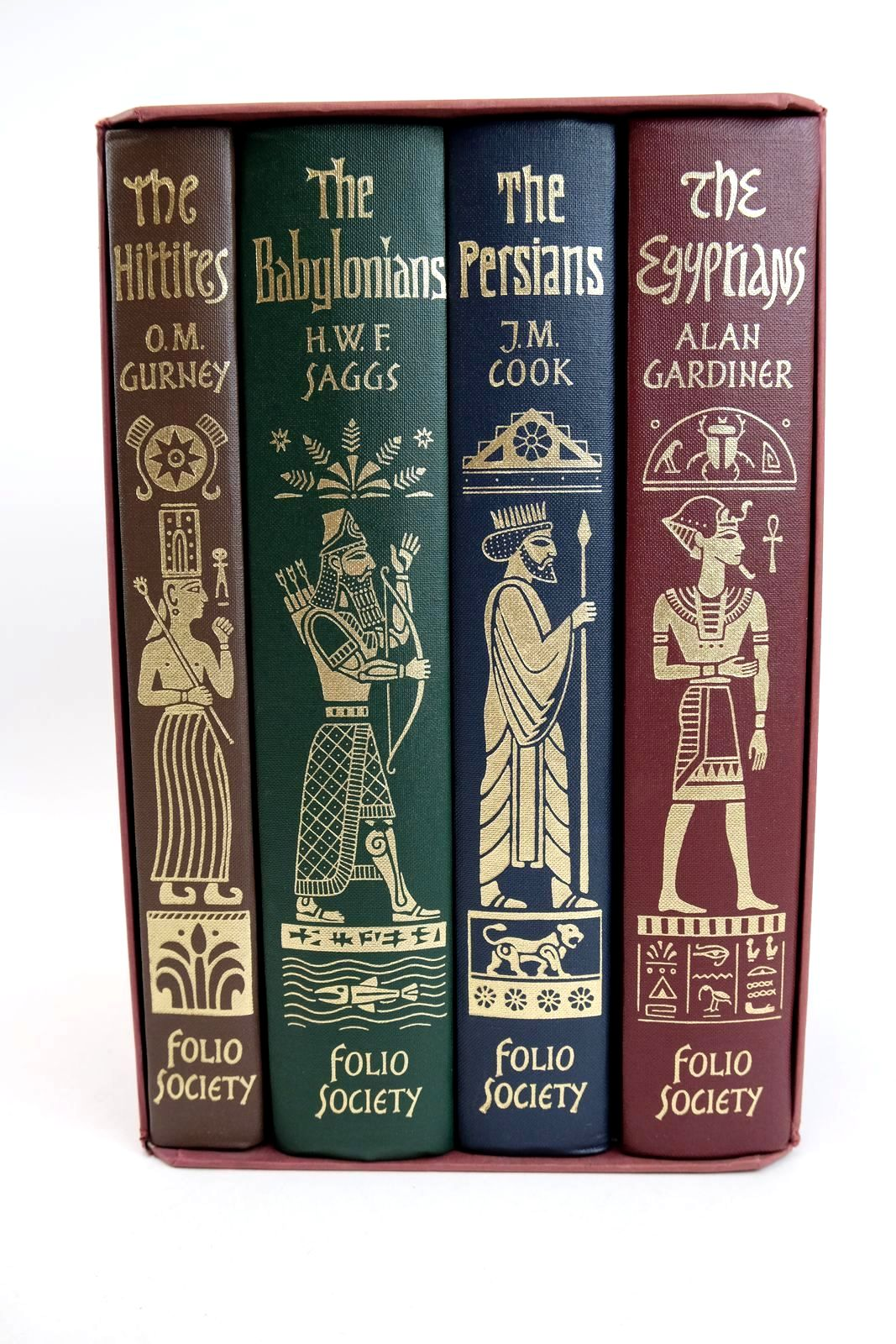 Photo of EMPIRES OF THE ANCIENT NEAR EAST (FOUR VOLUMES) written by Saggs, H.W.F.<br />Gardiner, Alan<br />Cook, J.M.<br />Gurney, O.R. published by Folio Society (STOCK CODE: 1318678)  for sale by Stella & Rose's Books