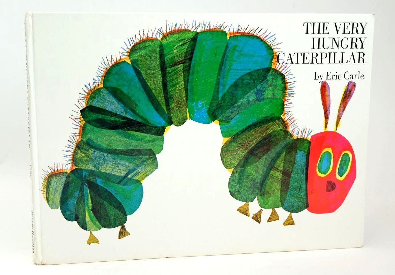 Photo of THE VERY HUNGRY CATERPILLAR written by Carle, Eric illustrated by Carle, Eric published by Hamish Hamilton (STOCK CODE: 1318680)  for sale by Stella & Rose's Books