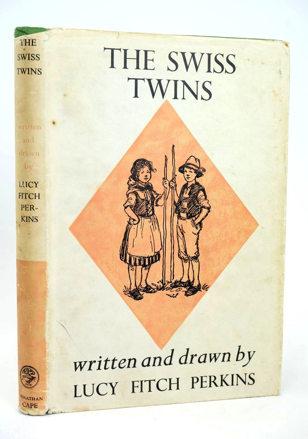 Photo of THE SWISS TWINS written by Perkins, Lucy Fitch illustrated by Perkins, Lucy Fitch published by Jonathan Cape (STOCK CODE: 1318684)  for sale by Stella & Rose's Books