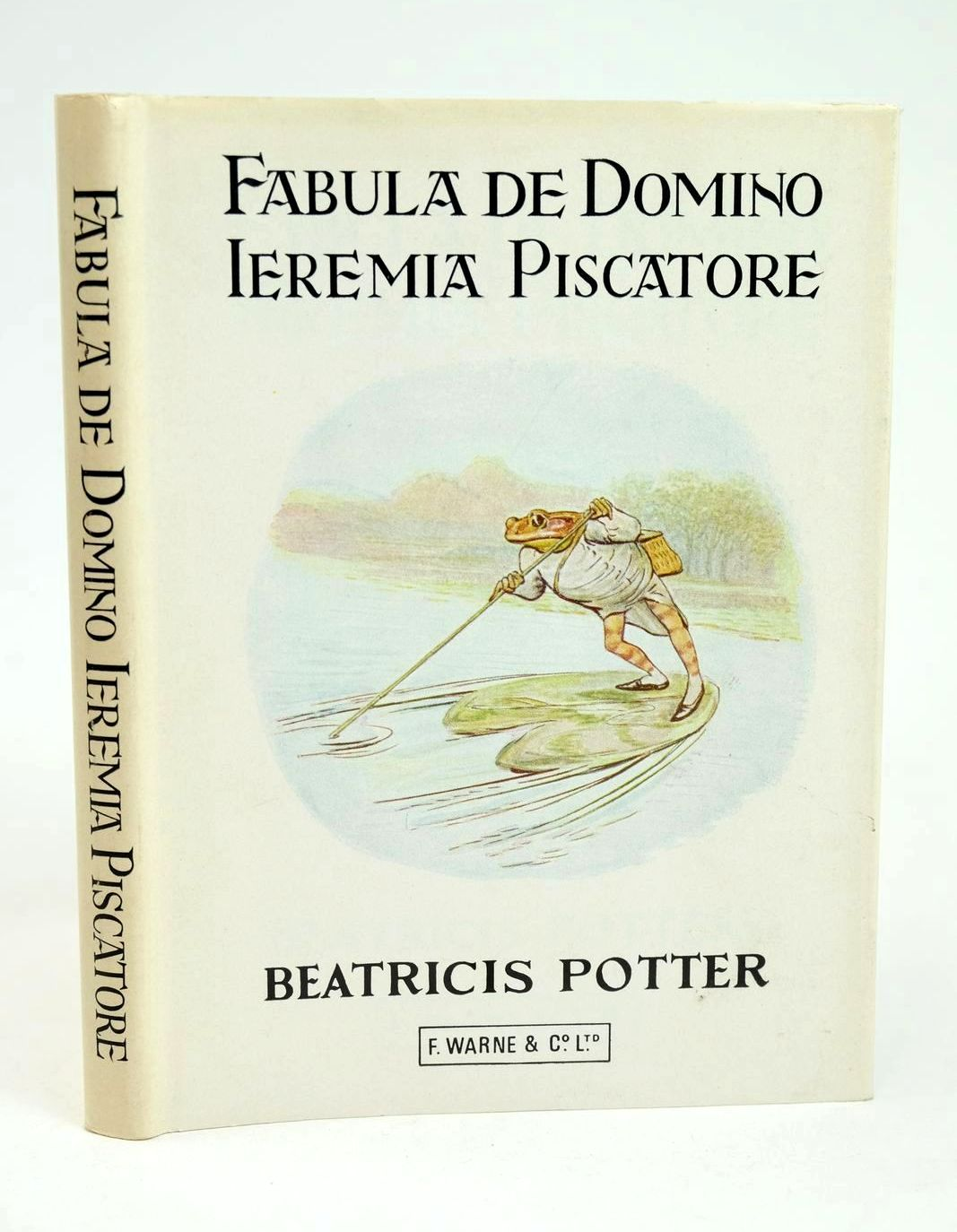 Photo of FABULA DE DOMINO IEREMIA PISCATORE written by Potter, Beatrix illustrated by Potter, Beatrix published by Frederick Warne (Publishers) Ltd. (STOCK CODE: 1318689)  for sale by Stella & Rose's Books