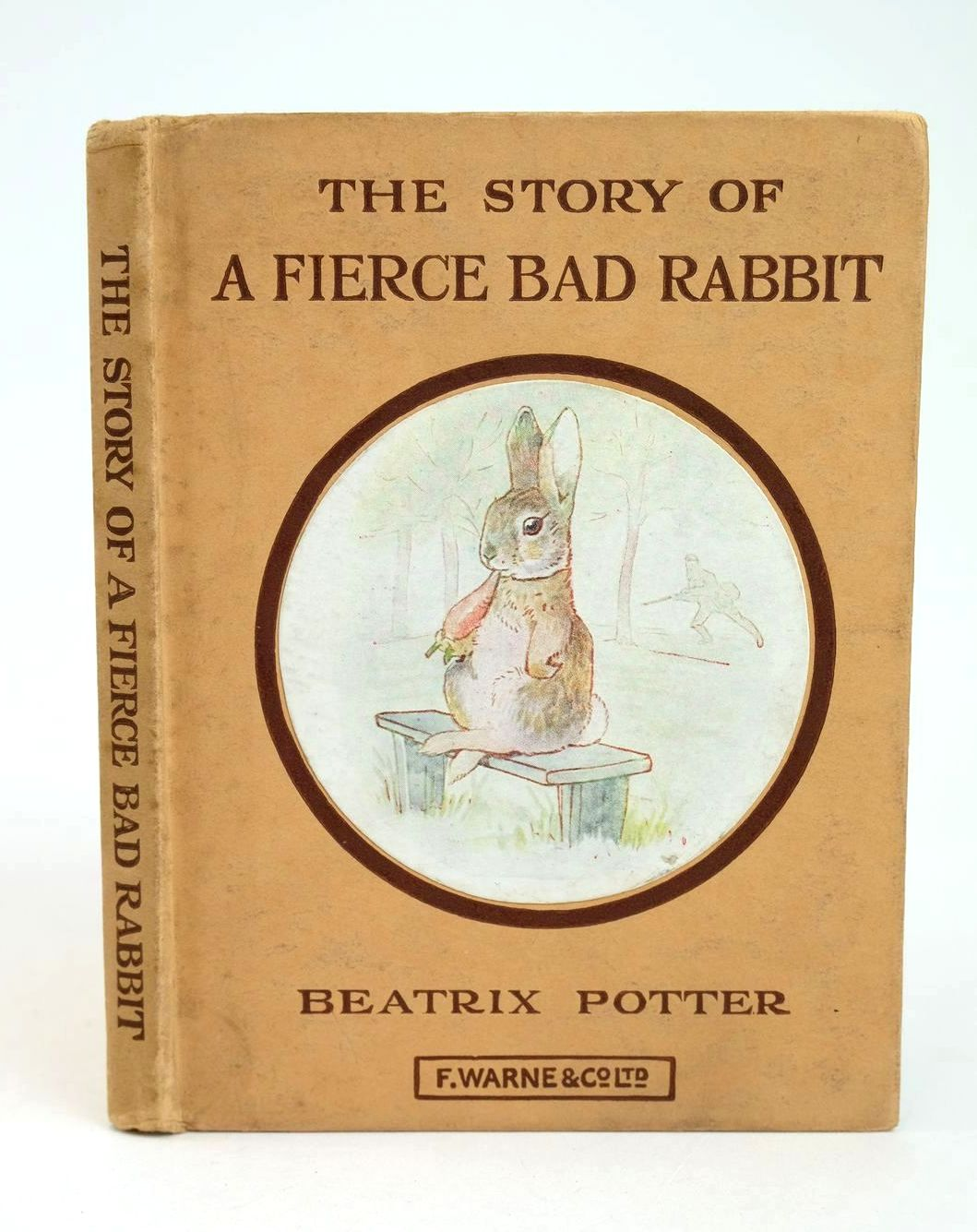 Photo of THE STORY OF A FIERCE BAD RABBIT written by Potter, Beatrix illustrated by Potter, Beatrix published by Frederick Warne & Co Ltd. (STOCK CODE: 1318692)  for sale by Stella & Rose's Books