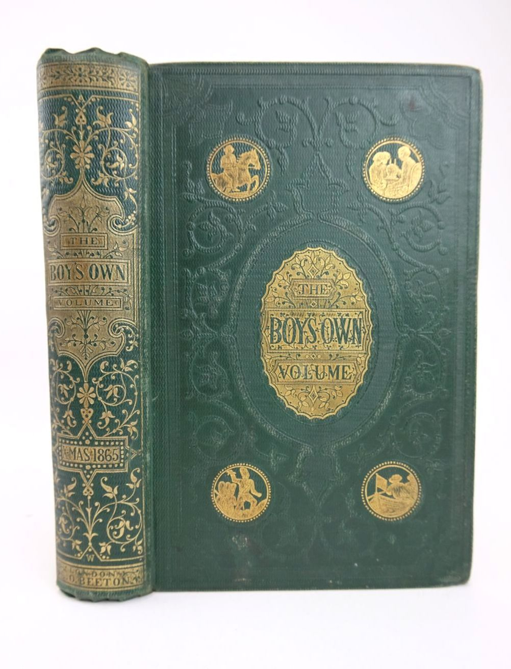 Photo of THE BOY'S OWN VOLUME OF FACT, FICTION, HISTORY AND ADVENTURE CHRISTMAS 1865- Stock Number: 1318704