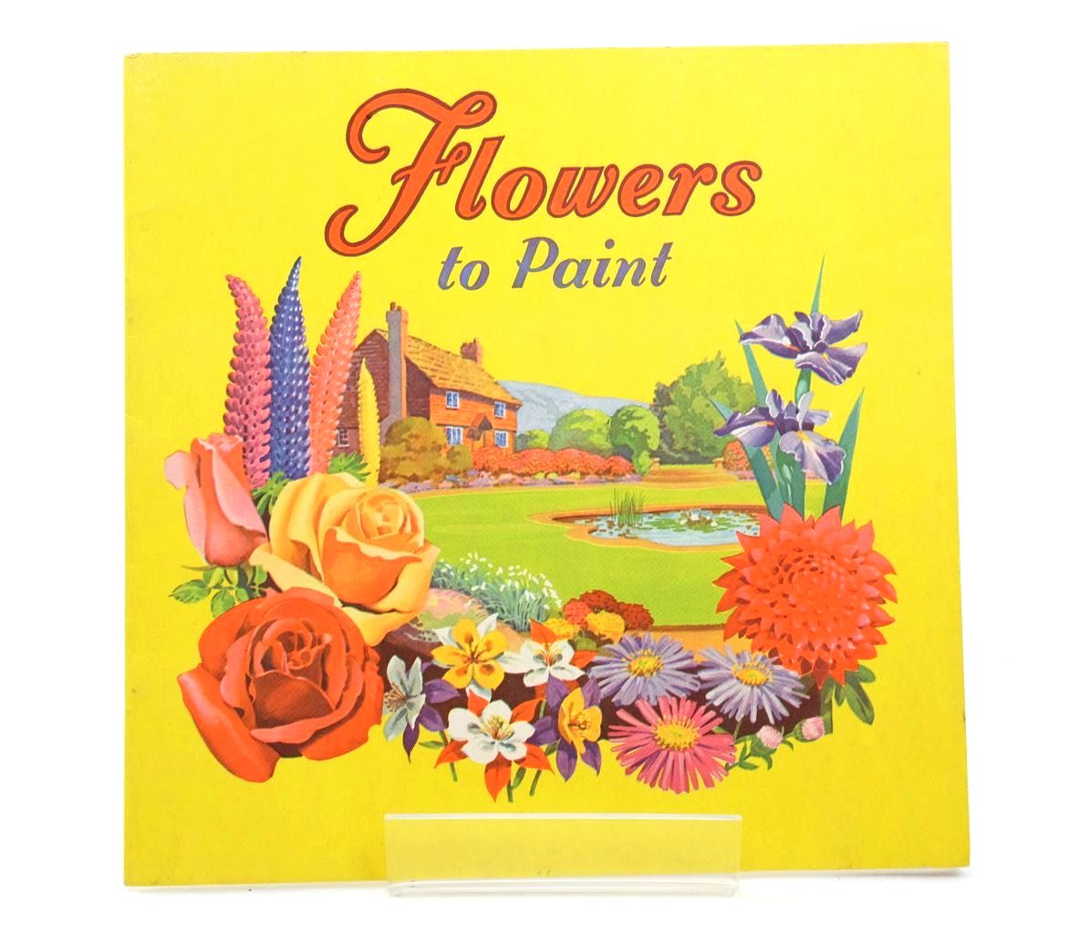Photo of FLOWERS TO PAINT- Stock Number: 1318708