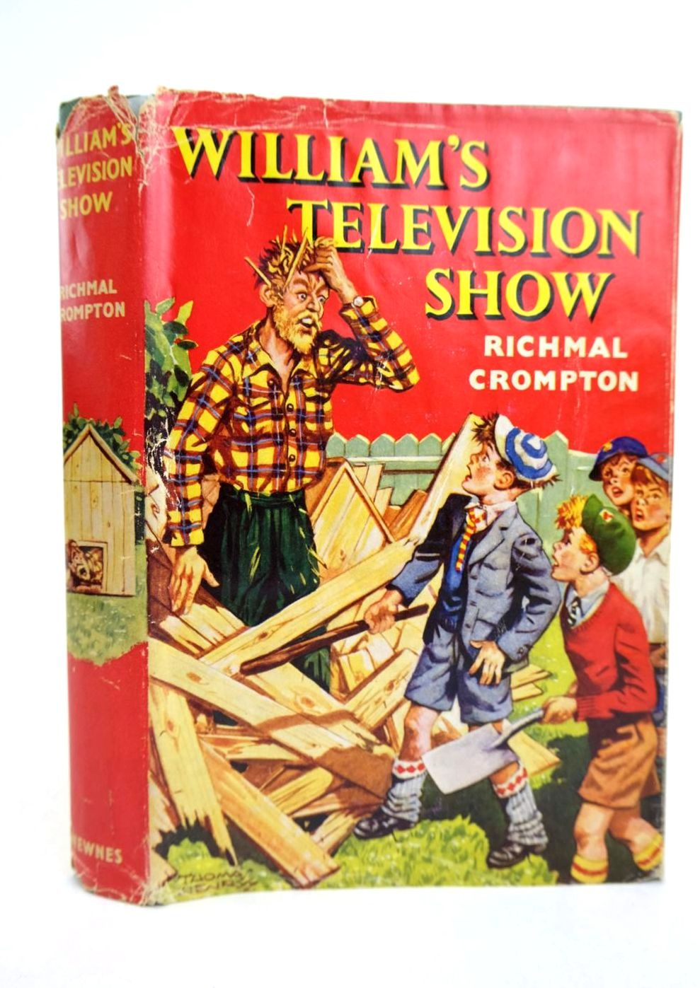 Photo of WILLIAM'S TELEVISION SHOW written by Crompton, Richmal illustrated by Henry, Thomas published by George Newnes Limited (STOCK CODE: 1318725)  for sale by Stella & Rose's Books