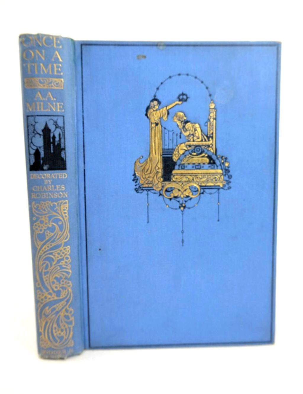 Photo of ONCE ON A TIME written by Milne, A.A. illustrated by Robinson, Charles published by Hodder & Stoughton (STOCK CODE: 1318726)  for sale by Stella & Rose's Books