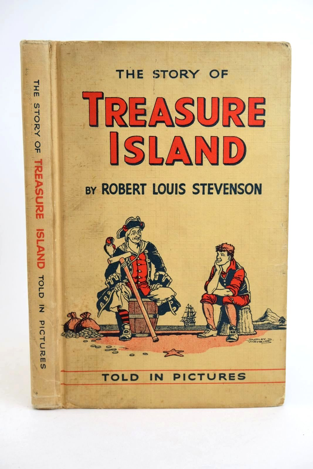 Photo of THE STORY OF TREASURE ISLAND: TOLD IN PICTURES- Stock Number: 1318732