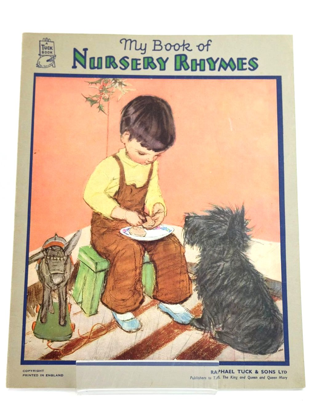 Photo of MY BOOK OF NURSERY RHYMES illustrated by Dawson, Muriel published by Raphael Tuck & Sons Ltd. (STOCK CODE: 1318740)  for sale by Stella & Rose's Books