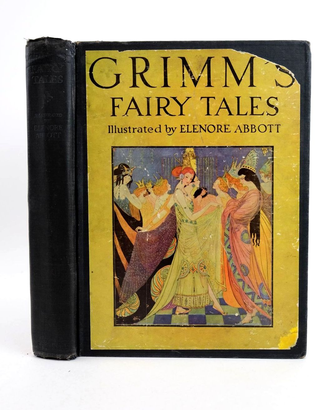 Photo of GRIMM'S FAIRY TALES written by Grimm, Brothers illustrated by Abbott, Elenore Plaisted published by Charles Scribner's Sons (STOCK CODE: 1318757)  for sale by Stella & Rose's Books