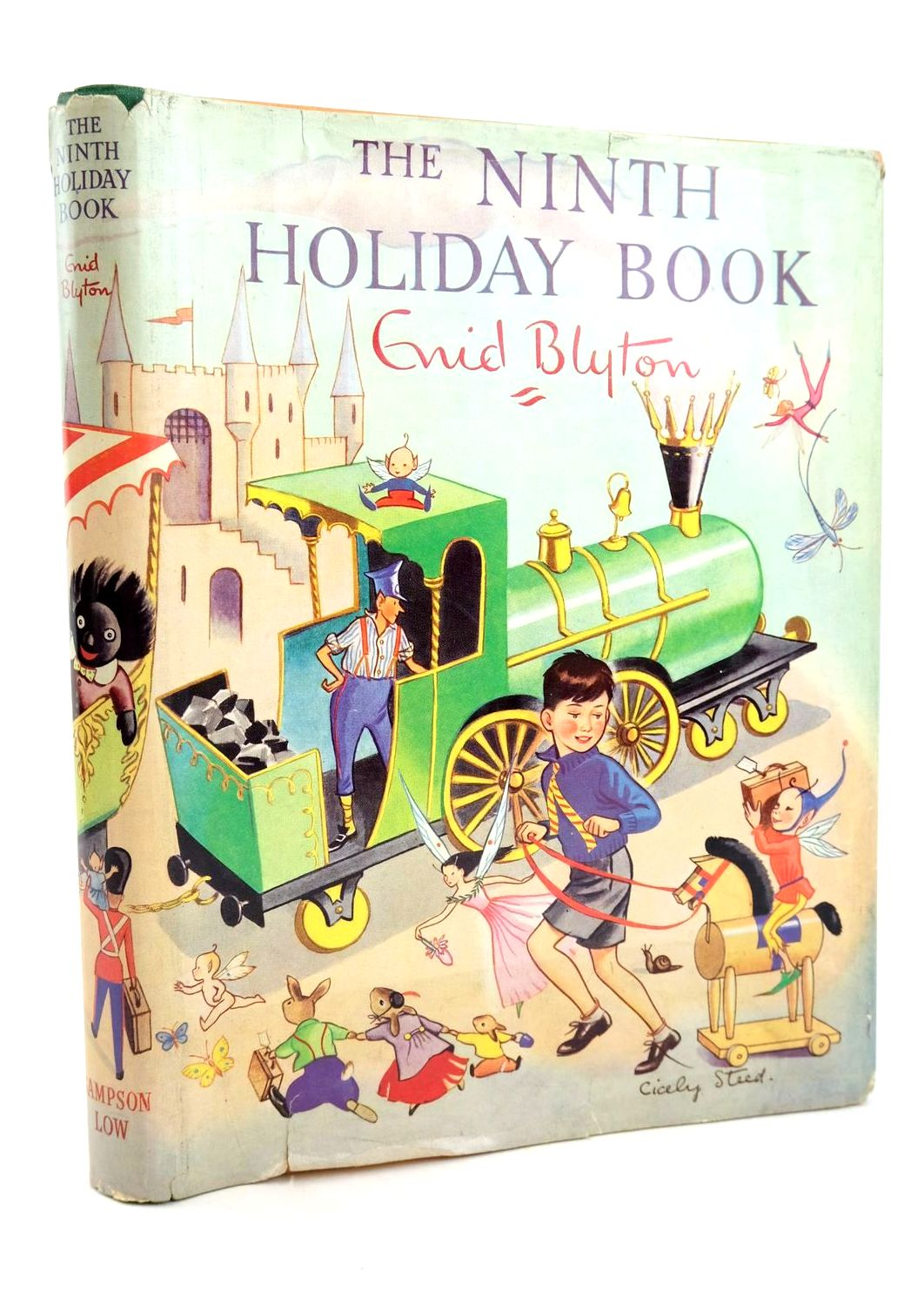 Photo of THE NINTH HOLIDAY BOOK written by Blyton, Enid illustrated by Lodge, Grace Jacobs, Helen et al.,  published by Sampson Low, Marston & Co., C.A. Publications Ltd. (STOCK CODE: 1318764)  for sale by Stella & Rose's Books