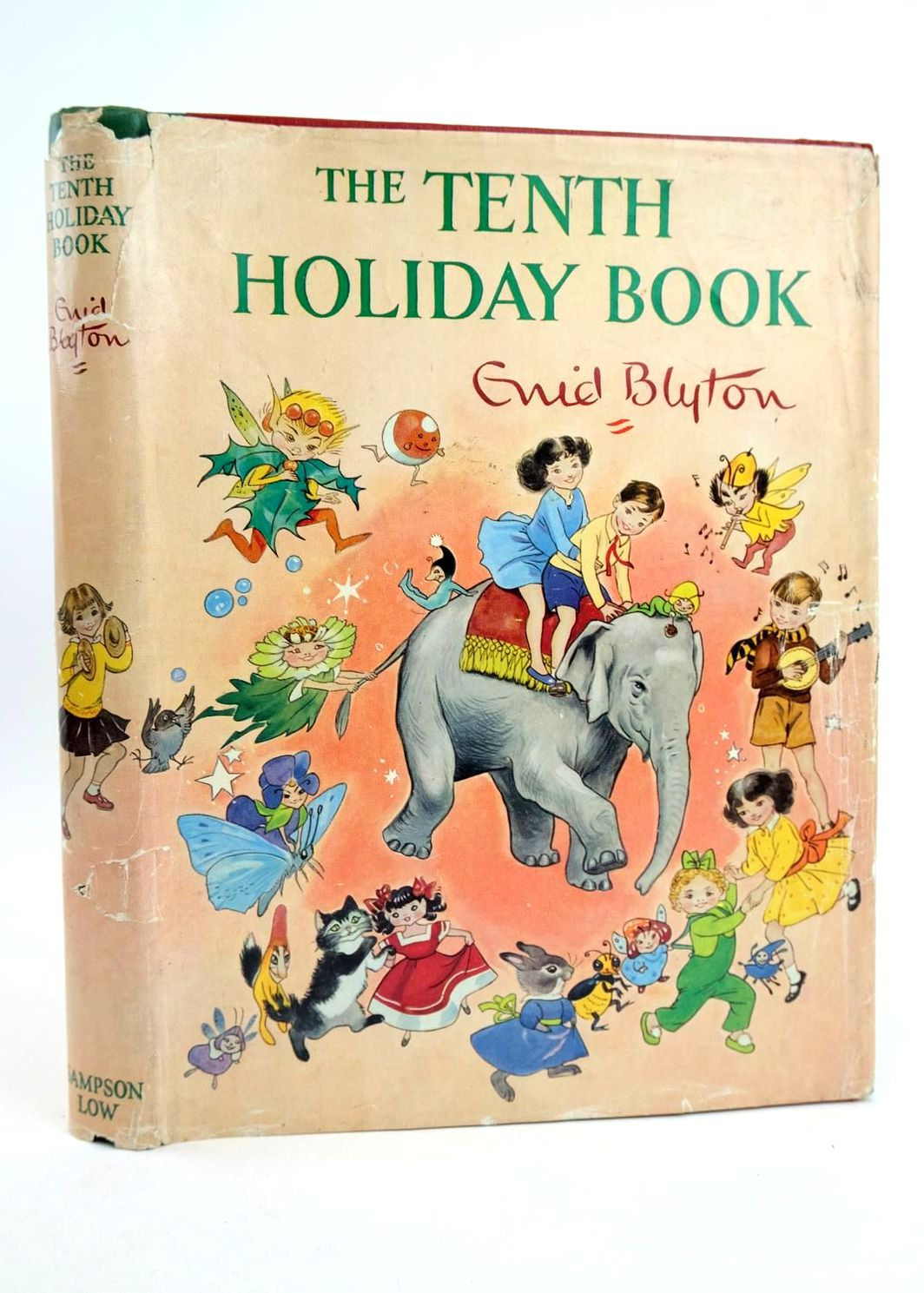 Photo of THE TENTH HOLIDAY BOOK written by Blyton, Enid illustrated by Lodge, Grace MacGillivray, Robert McGavin, Hilda et al.,  published by Sampson Low, Marston & Co. Ltd. (STOCK CODE: 1318765)  for sale by Stella & Rose's Books