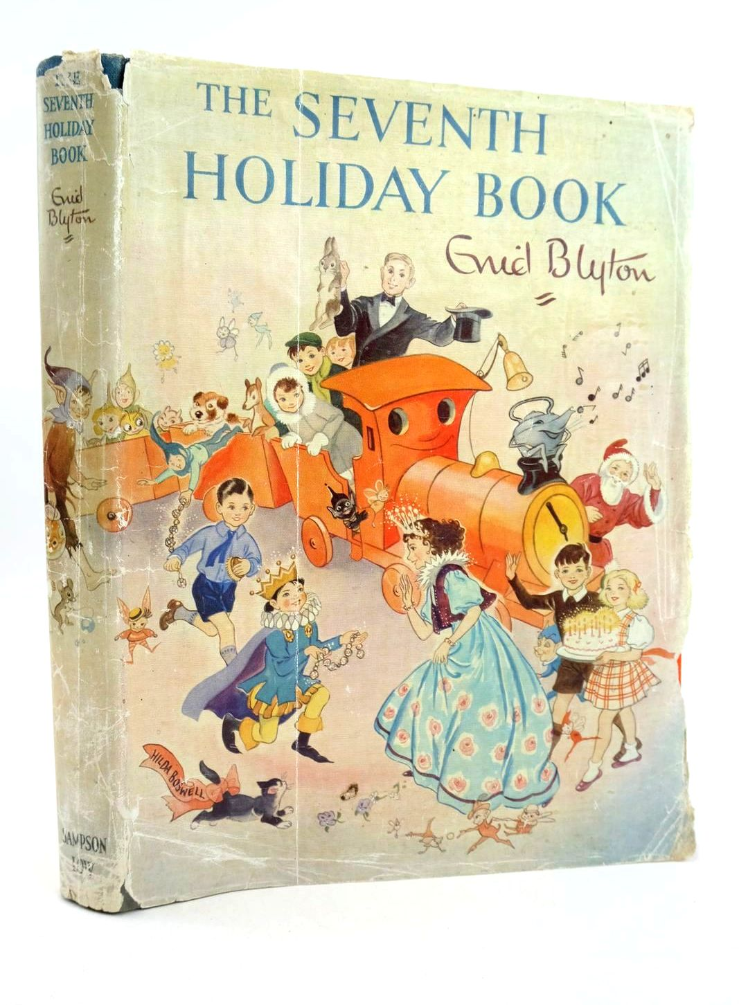 Photo of THE SEVENTH HOLIDAY BOOK written by Blyton, Enid illustrated by Lodge, Grace