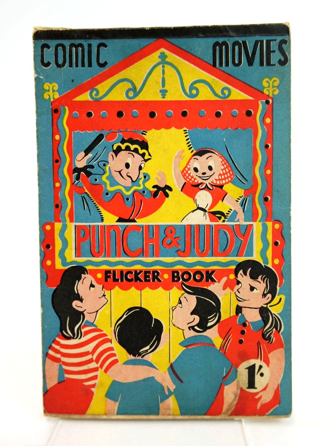 Photo of COMIC MOVIES FLICKER BOOK - PUNCH & JUDY- Stock Number: 1318767