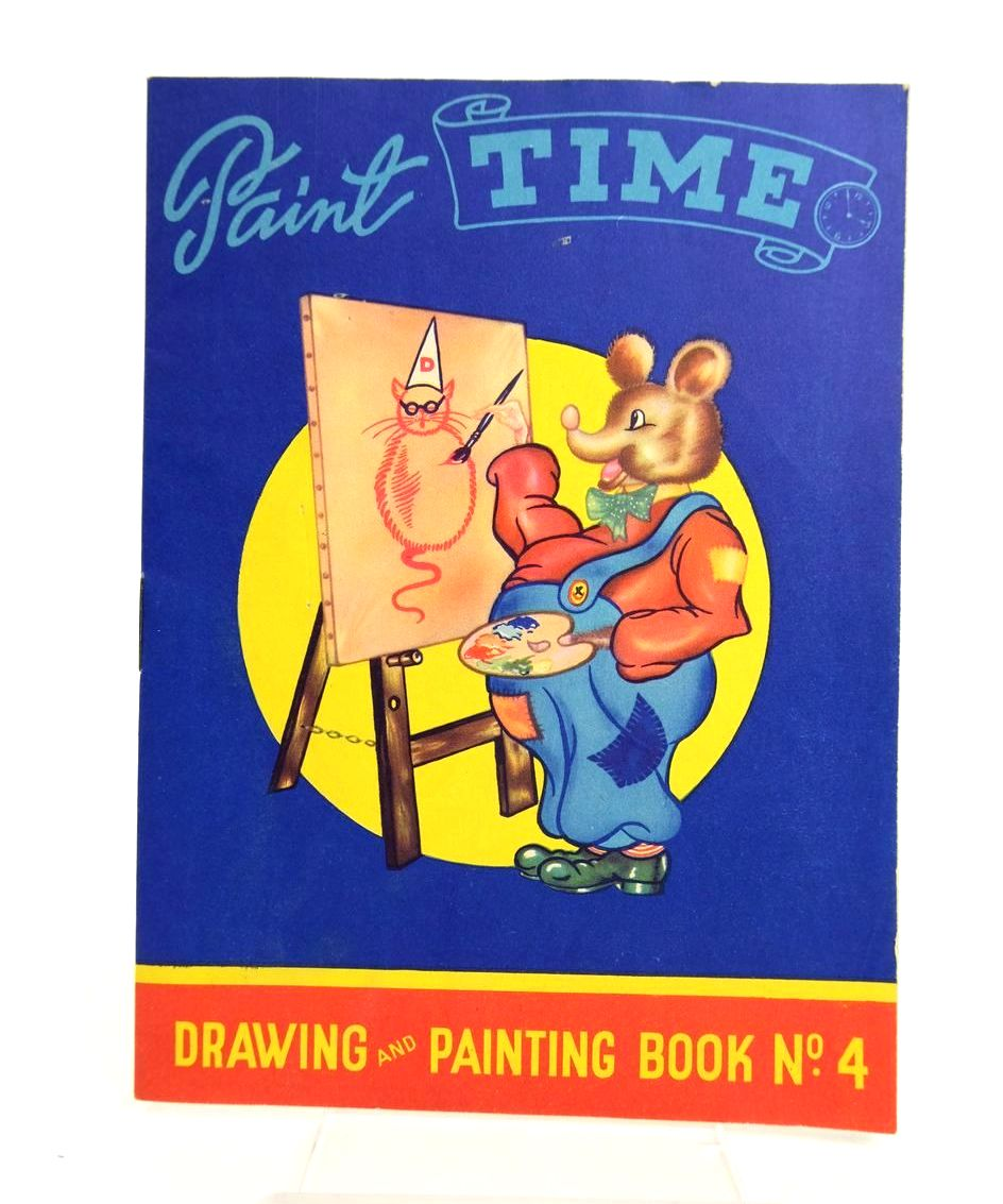 Photo of PAINT TIME DRAWING AND PAINTING BOOK No. 4- Stock Number: 1318771