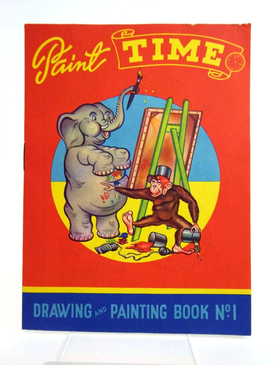 Photo of PAINT TIME DRAWING AND PAINTING BOOK No. 1- Stock Number: 1318772