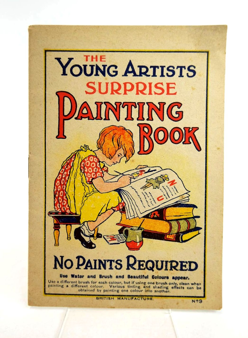 Photo of THE YOUNG ARTISTS SUPRISE PAINTING BOOK No. 9- Stock Number: 1318773