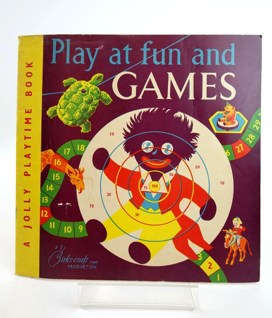 Photo of PLAY AT FUN AND GAMES - A JOLLY PLAYTIME BOOK- Stock Number: 1318774