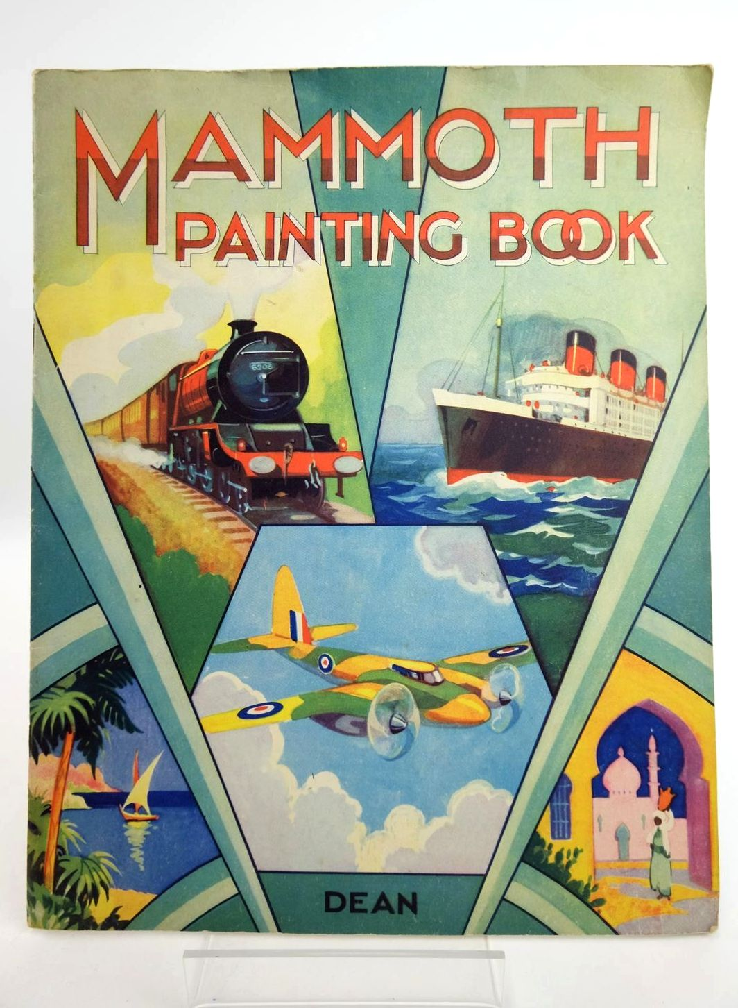 Photo of MAMMOTH PAINTING BOOK- Stock Number: 1318775