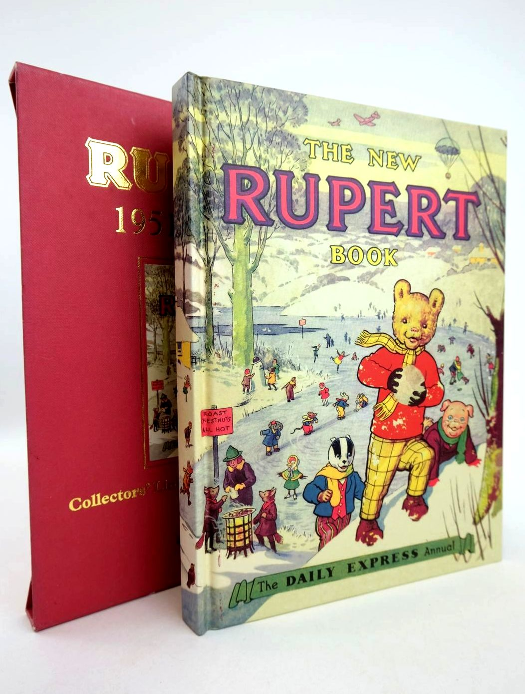 Photo of RUPERT ANNUAL 1951 (FACSIMILE) - THE NEW RUPERT BOOK written by Bestall, Alfred illustrated by Bestall, Alfred published by Pedigree Books Limited (STOCK CODE: 1318784)  for sale by Stella & Rose's Books
