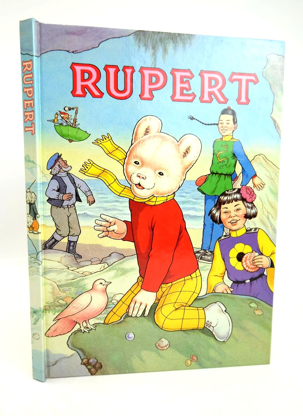 Photo of RUPERT ANNUAL 1991 written by Henderson, James Robinson, Ian illustrated by Harrold, John Bestall, Alfred published by Daily Express (STOCK CODE: 1318789)  for sale by Stella & Rose's Books