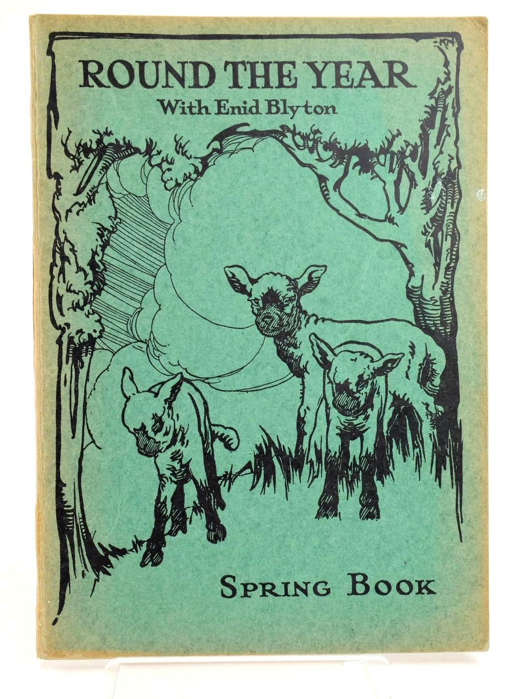 Photo of ROUND THE YEAR WITH ENID BLYTON - SPRING BOOK written by Blyton, Enid published by Evans Brothers Limited (STOCK CODE: 1318799)  for sale by Stella & Rose's Books