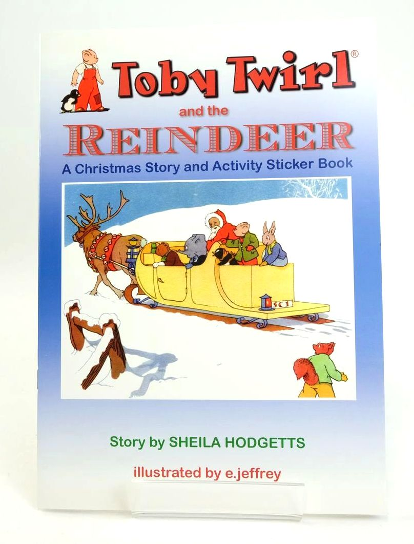 Photo of TOBY TWIRL AND THE REINDEER- Stock Number: 1318812