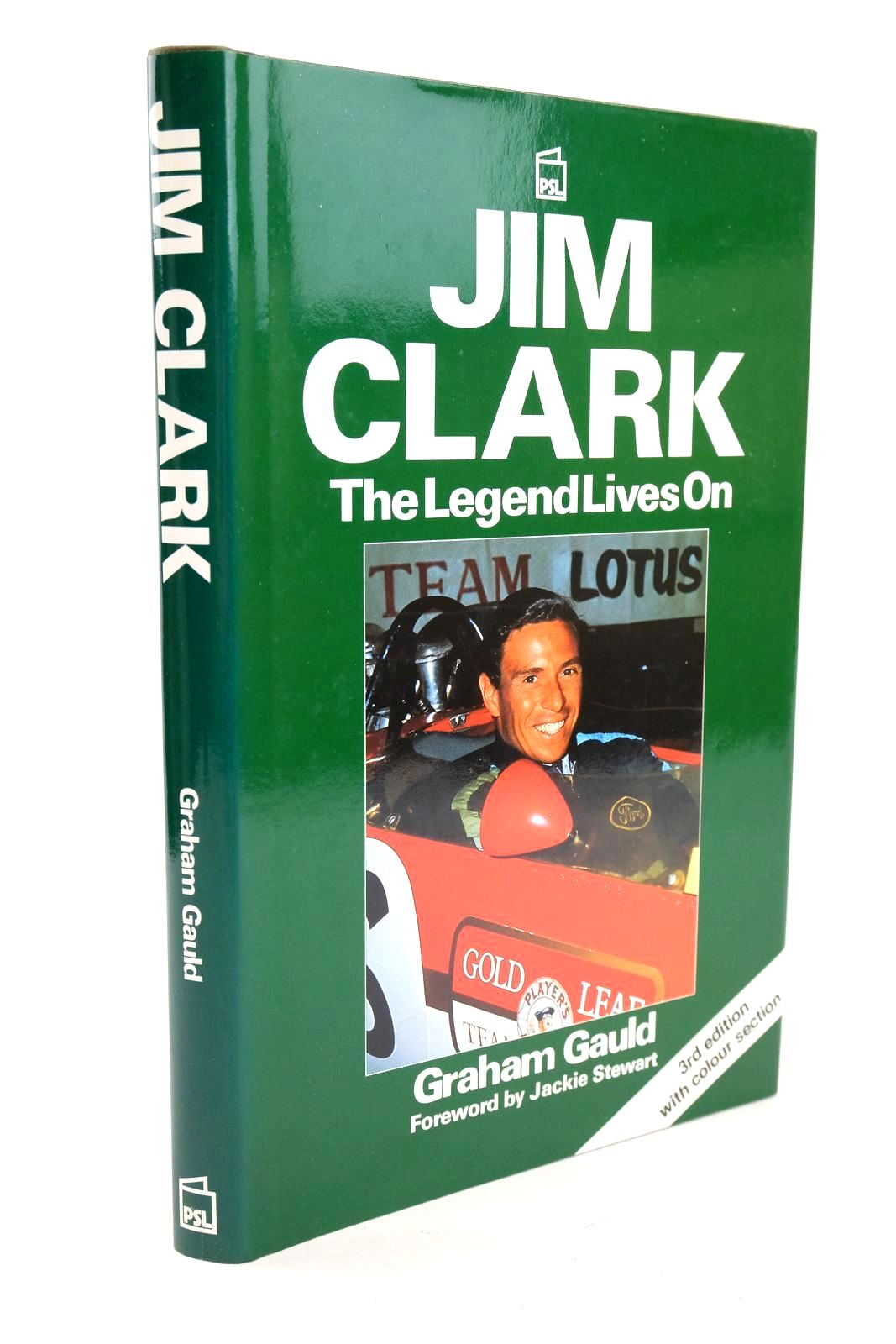 Photo of JIM CLARK THE LEGEND LIVES ON written by Gauld, Graham published by Patrick Stephens Limited (STOCK CODE: 1318846)  for sale by Stella & Rose's Books
