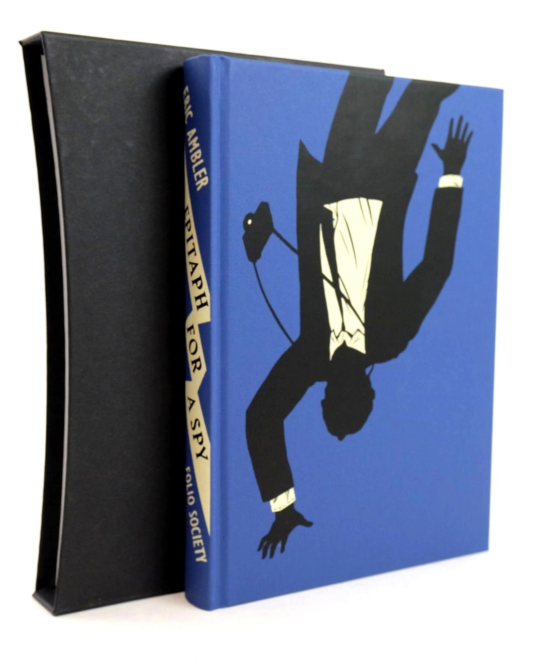 Photo of EPITAPH FOR A SPY written by Ambler, Eric illustrated by Blow, Paul published by Folio Society (STOCK CODE: 1318874)  for sale by Stella & Rose's Books