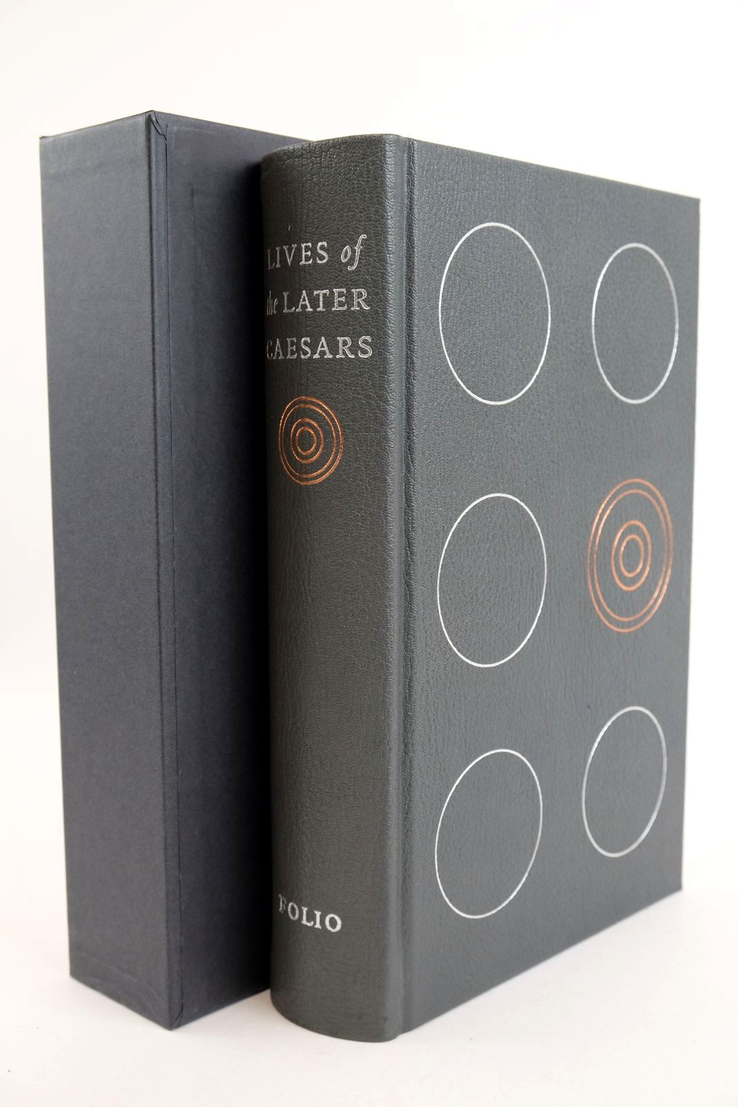 Photo of LIVES OF THE LATER CAESARS written by Birley, Anthony R. illustrated by Scullard, Sue published by Folio Society (STOCK CODE: 1318897)  for sale by Stella & Rose's Books