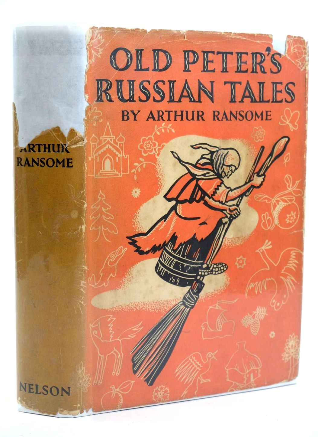 Photo of OLD PETER'S RUSSIAN TALES written by Ransome, Arthur illustrated by Mitrokhin, Dmitri published by Thomas Nelson and Sons Ltd. (STOCK CODE: 1318904)  for sale by Stella & Rose's Books
