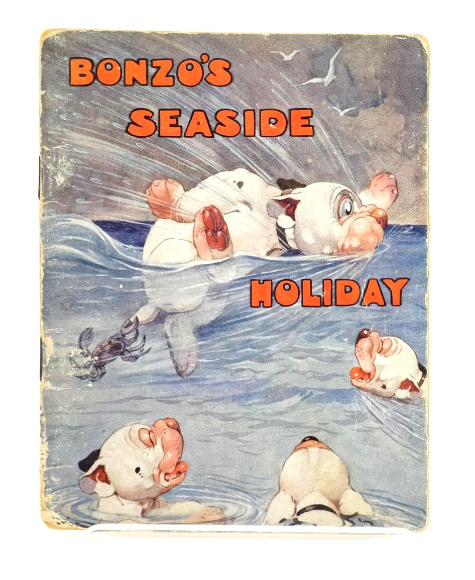 Photo of BONZO'S SEASIDE HOLIDAY written by Studdy, G.E. Jellicoe, George illustrated by Studdy, G.E. published by John Swain & Son Limited, E.P. Dutton & Co. (STOCK CODE: 1318909)  for sale by Stella & Rose's Books