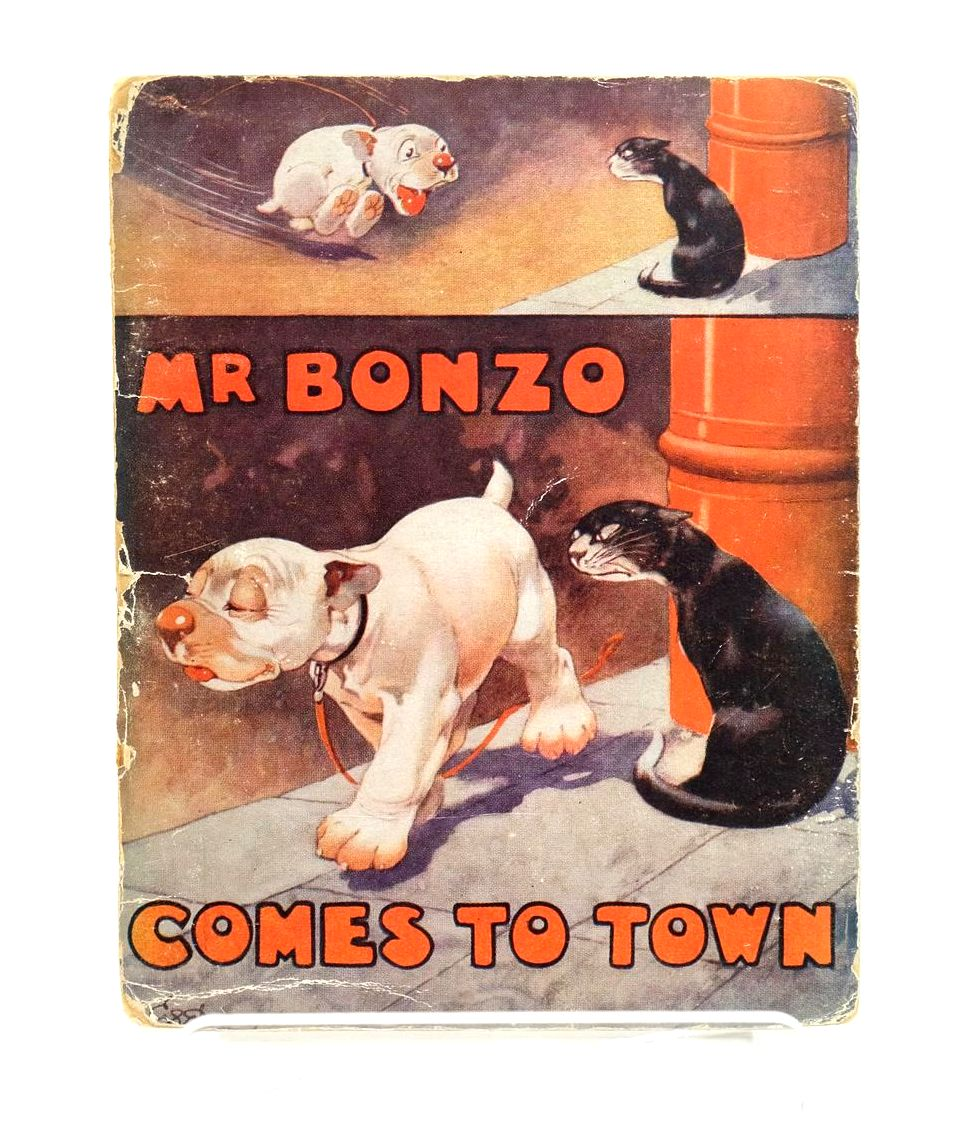 Photo of MR. BONZO COMES TO TOWN written by Studdy, G.E. Jellicoe, George illustrated by Studdy, G.E. published by John Swain & Son Limited, E.P. Dutton & Co. (STOCK CODE: 1318912)  for sale by Stella & Rose's Books