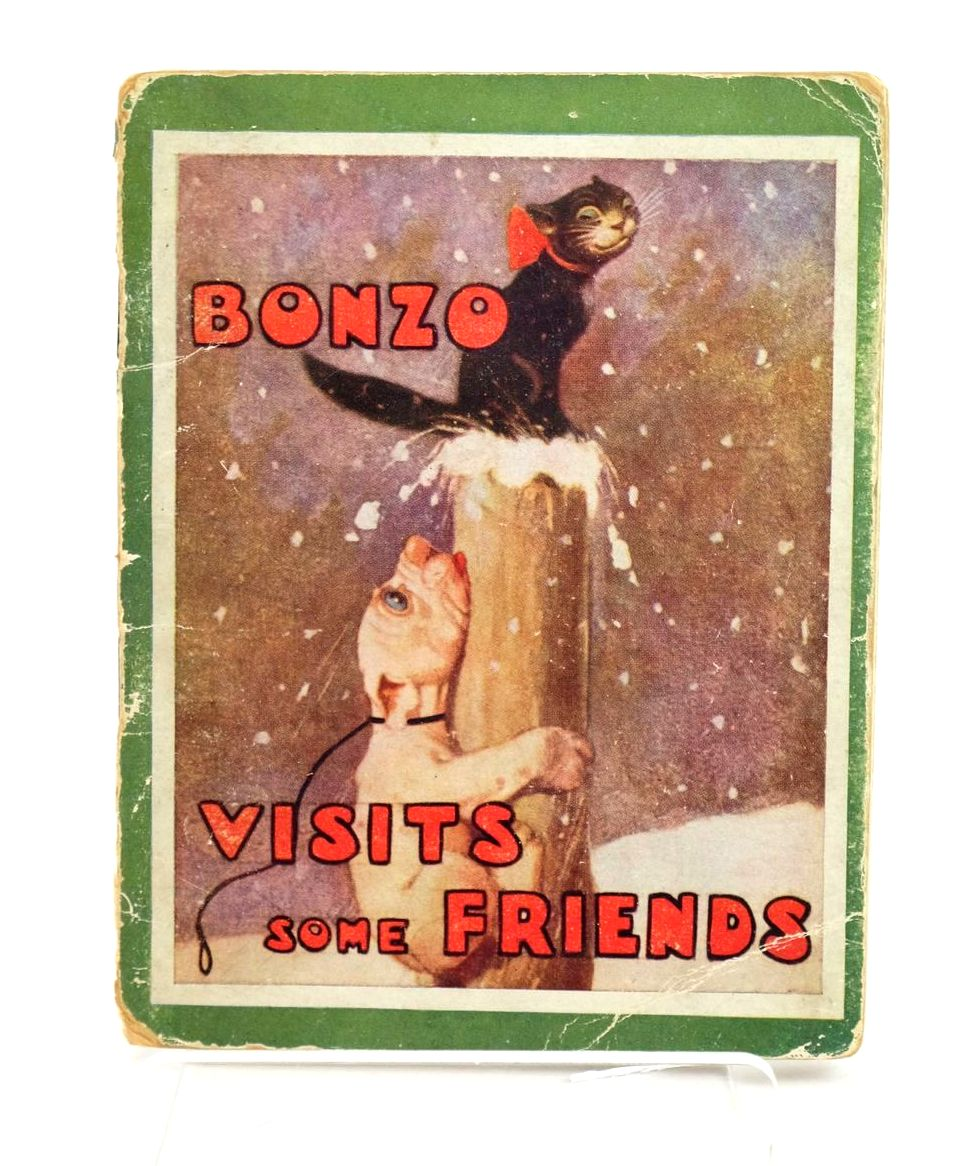 Photo of BONZO VISITS SOME FRIENDS written by Studdy, G.E. Jellicoe, George illustrated by Studdy, G.E. published by John Swain & Son Limited (STOCK CODE: 1318913)  for sale by Stella & Rose's Books