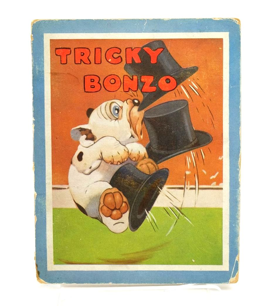 Photo of TRICKY BONZO written by Studdy, G.E. Jellicoe, George illustrated by Studdy, G.E. published by John Swain & Son Limited (STOCK CODE: 1318914)  for sale by Stella & Rose's Books