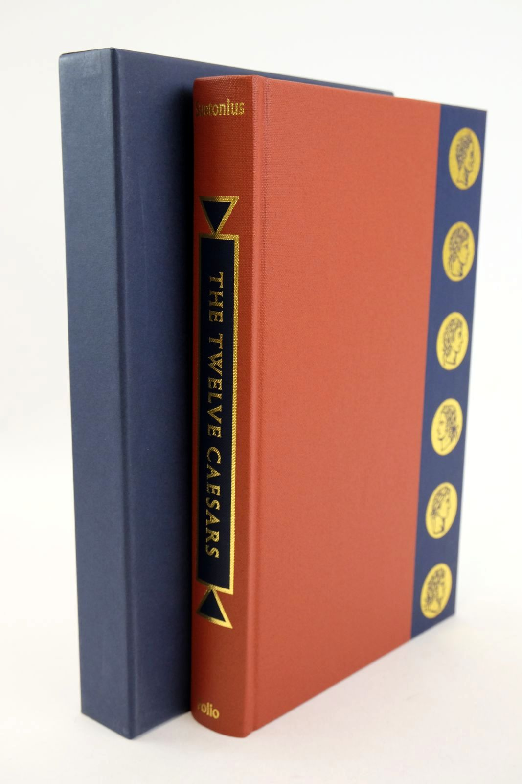Photo of THE TWELVE CAESARS written by Tranquillus, Gaius Suetonius Graves, Robert illustrated by Hawthorn, Raymond published by Folio Society (STOCK CODE: 1318936)  for sale by Stella & Rose's Books