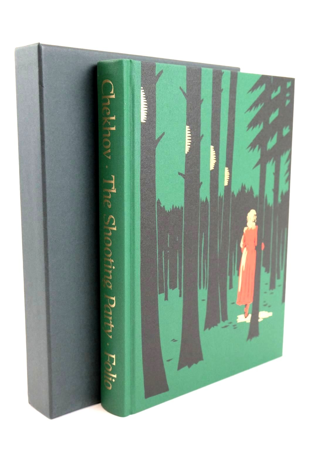 Photo of THE SHOOTING PARTY written by Chekhov, Anton Sutherland, John illustrated by Mosley, Francis published by Folio Society (STOCK CODE: 1318941)  for sale by Stella & Rose's Books