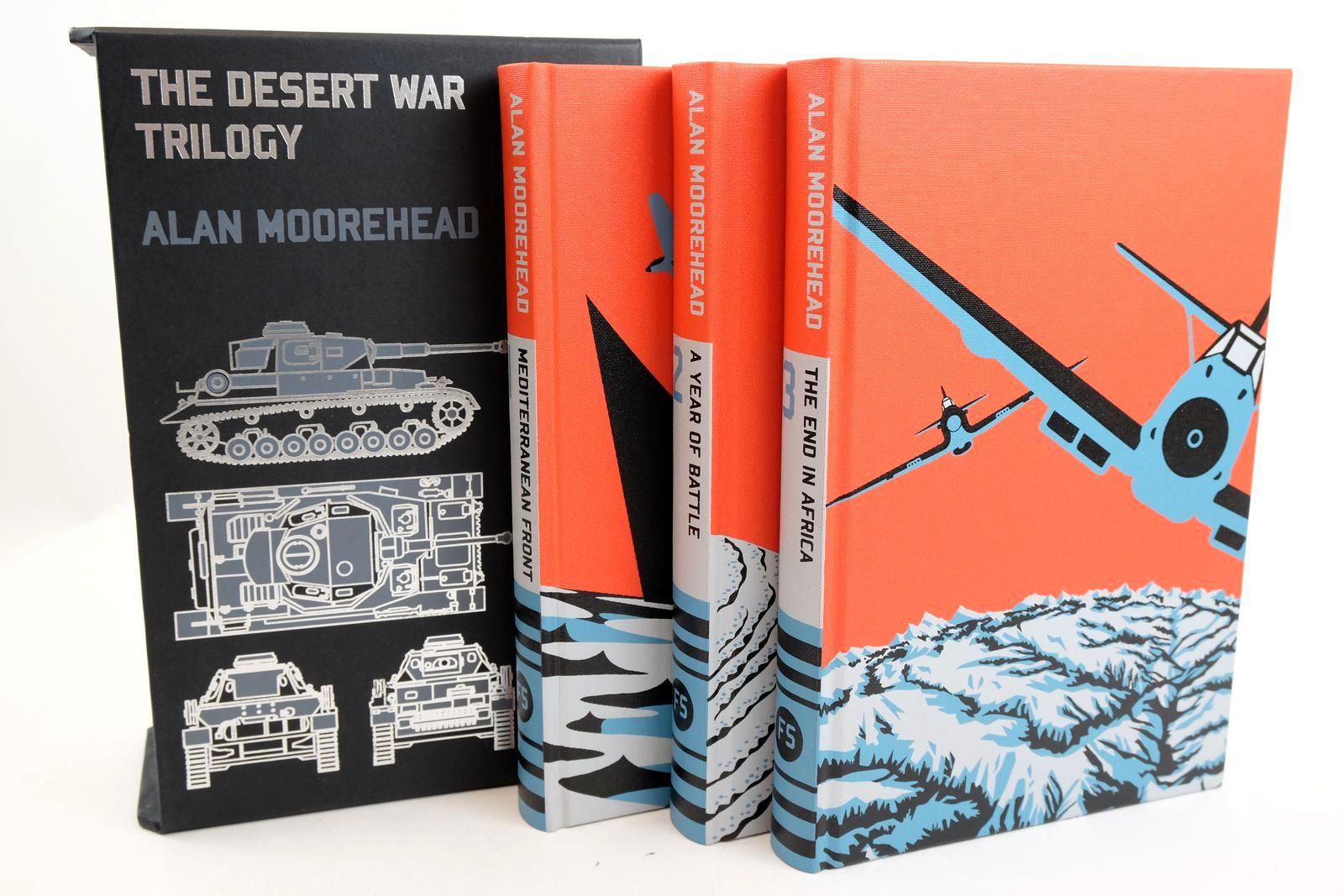 Photo of THE DESERT WAR TRILOGY (3 VOLUMES)- Stock Number: 1318944