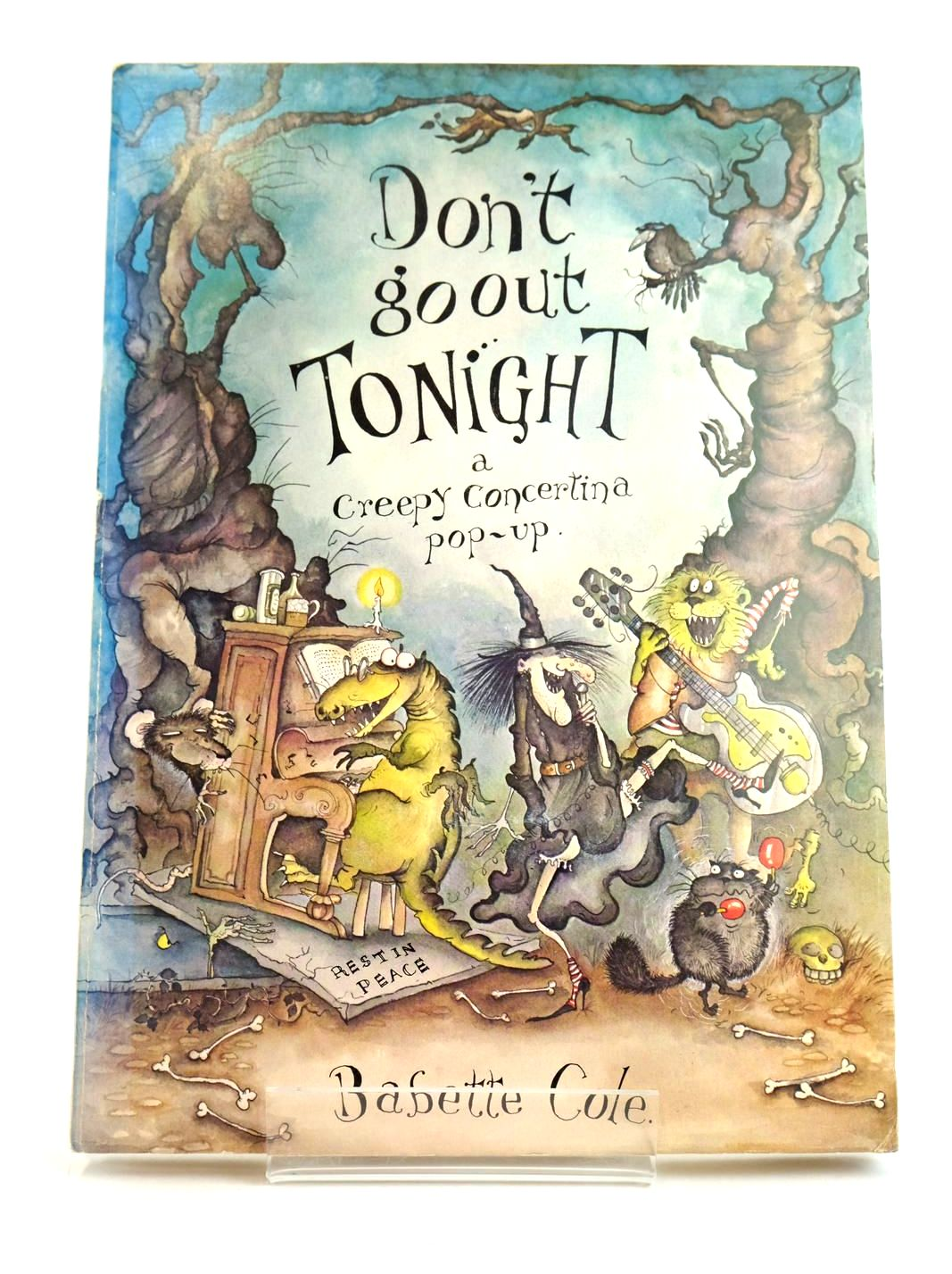 Photo of DON'T GO OUT TONIGHT written by Cole, Babette illustrated by Cole, Babette published by Doubleday (STOCK CODE: 1318956)  for sale by Stella & Rose's Books