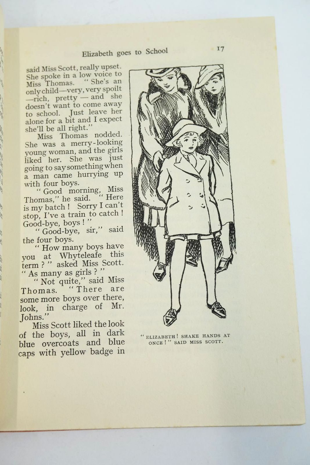 Photo of THE NAUGHTIEST GIRL IN THE SCHOOL written by Blyton, Enid illustrated by Cable, W. Lindsay published by George Newnes Limited (STOCK CODE: 1318957)  for sale by Stella & Rose's Books