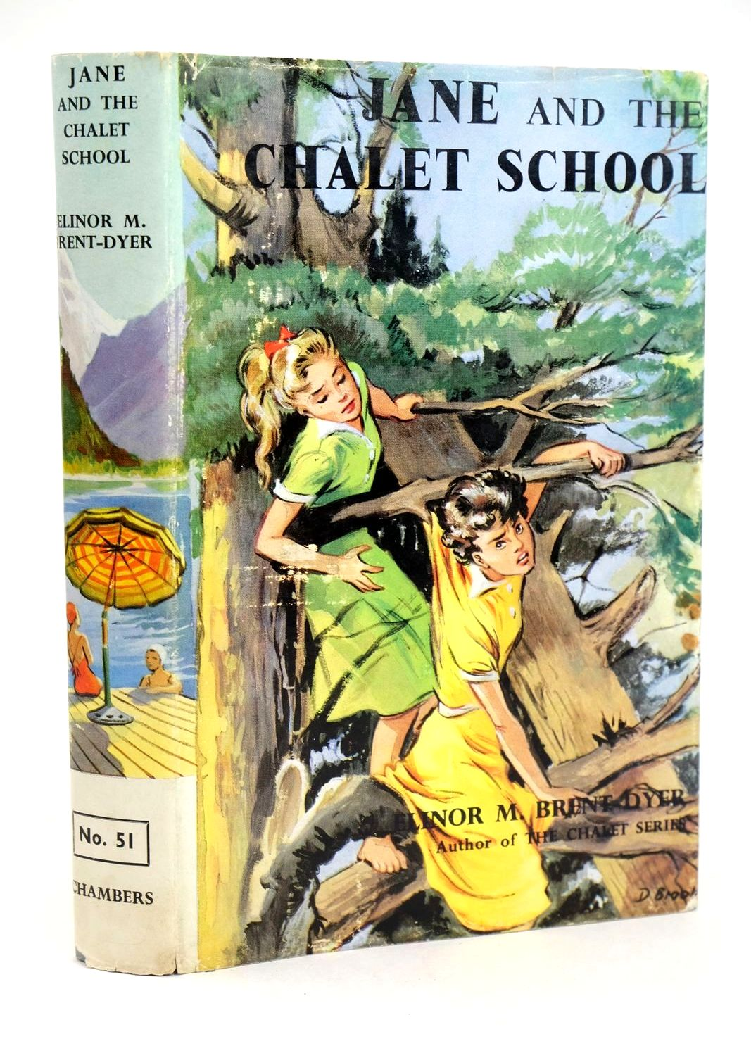 Photo of JANE AND THE CHALET SCHOOL written by Brent-Dyer, Elinor M. published by W. & R. Chambers Limited (STOCK CODE: 1318980)  for sale by Stella & Rose's Books