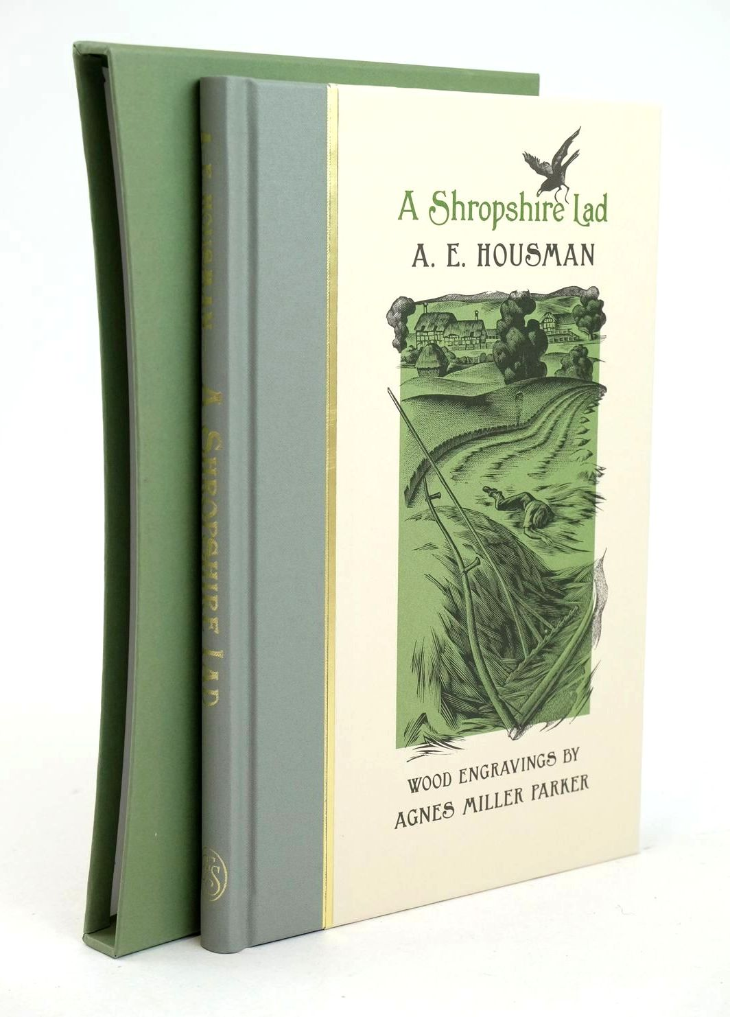 Photo of A SHROPSHIRE LAD written by Housman, A.E. illustrated by Parker, Agnes Miller published by Folio Society (STOCK CODE: 1319007)  for sale by Stella & Rose's Books